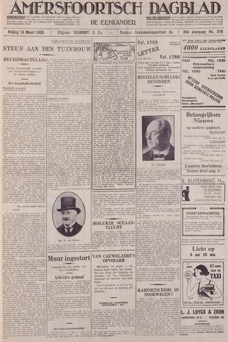 Amersfoortsch Dagblad / De Eemlander 1935-03-15