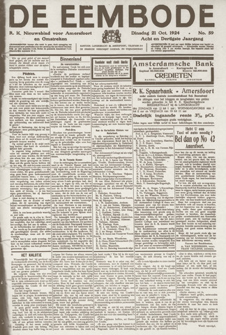 De Eembode 1924-10-21