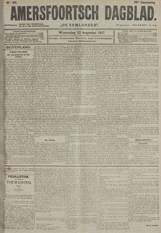 Amersfoortsch Dagblad / De Eemlander 1917-08-22