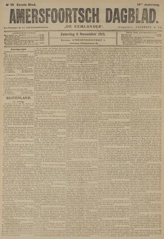 Amersfoortsch Dagblad / De Eemlander 1915-11-06