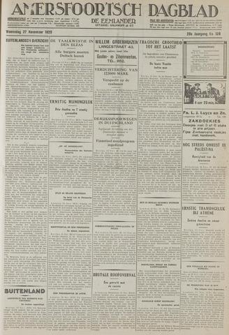 Amersfoortsch Dagblad / De Eemlander 1929-11-27
