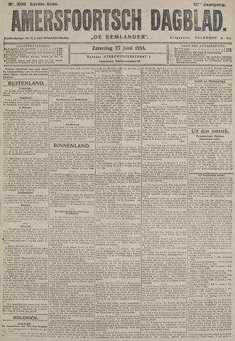 Amersfoortsch Dagblad / De Eemlander 1914-06-27