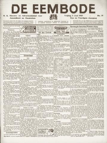 De Eembode 1927-06-03