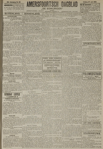 Amersfoortsch Dagblad / De Eemlander 1923-07-27