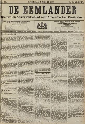 De Eemlander 1908-03-07