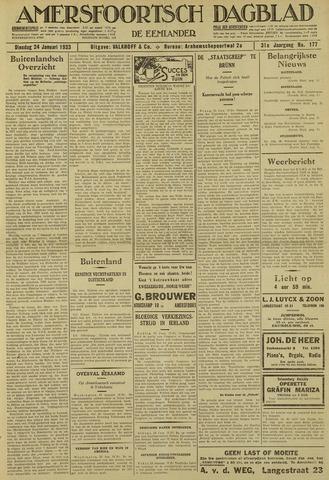 Amersfoortsch Dagblad / De Eemlander 1933-01-24