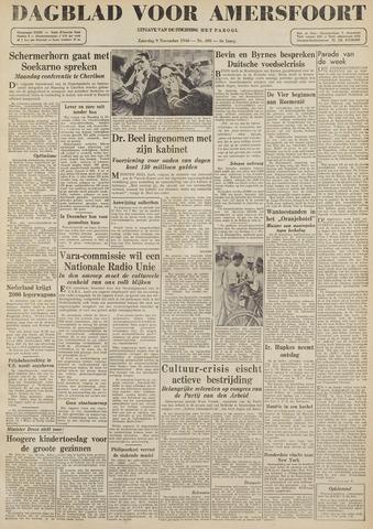 Dagblad voor Amersfoort 1946-11-09