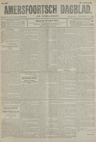 Amersfoortsch Dagblad / De Eemlander 1915-04-19