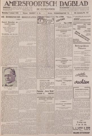 Amersfoortsch Dagblad / De Eemlander 1935-01-09