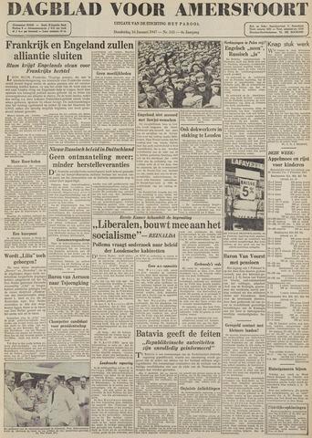 Dagblad voor Amersfoort 1947-01-16