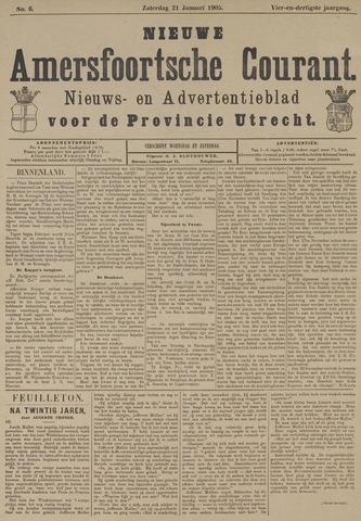 Nieuwe Amersfoortsche Courant 1905-01-21