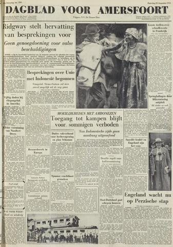 Dagblad voor Amersfoort 1951-08-25