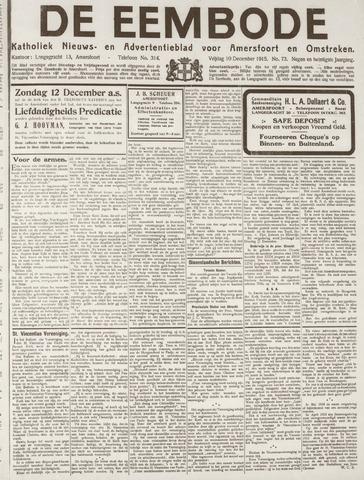 De Eembode 1915-12-10