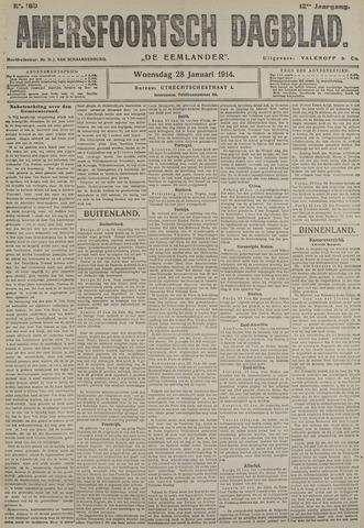 Amersfoortsch Dagblad / De Eemlander 1914-01-28