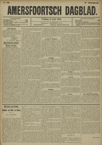 Amersfoortsch Dagblad 1905-07-21