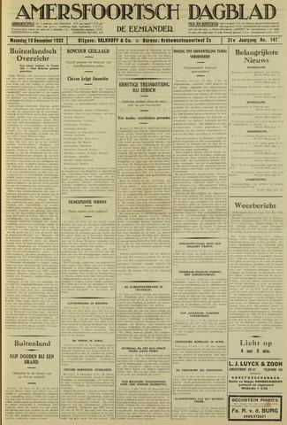 Amersfoortsch Dagblad / De Eemlander 1932-12-19