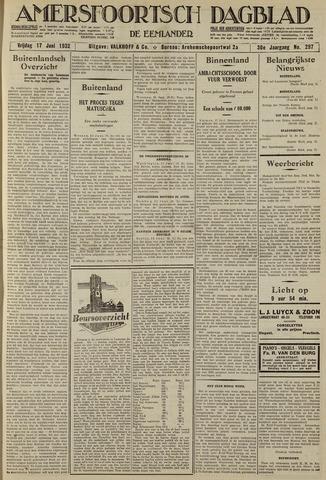 Amersfoortsch Dagblad / De Eemlander 1932-06-17