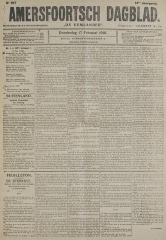 Amersfoortsch Dagblad / De Eemlander 1916-02-17