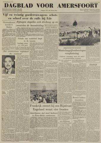 Dagblad voor Amersfoort 1949-07-29