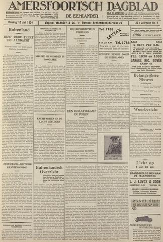 Amersfoortsch Dagblad / De Eemlander 1934-07-10