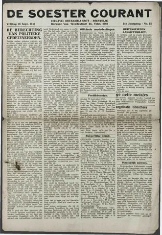 Soester Courant 1945-09-28