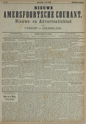 Nieuwe Amersfoortsche Courant 1886-07-07
