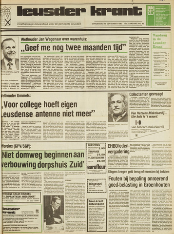 Leusder Krant 1983-09-15