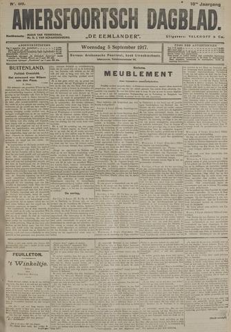Amersfoortsch Dagblad / De Eemlander 1917-09-05