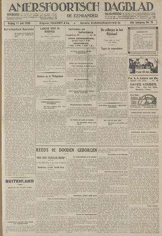 Amersfoortsch Dagblad / De Eemlander 1930-07-11