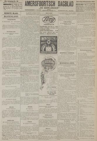 Amersfoortsch Dagblad / De Eemlander 1926-09-18
