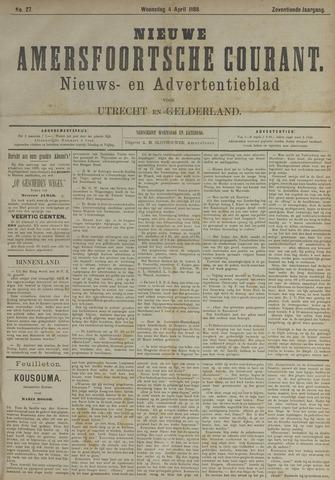 Nieuwe Amersfoortsche Courant 1888-04-04