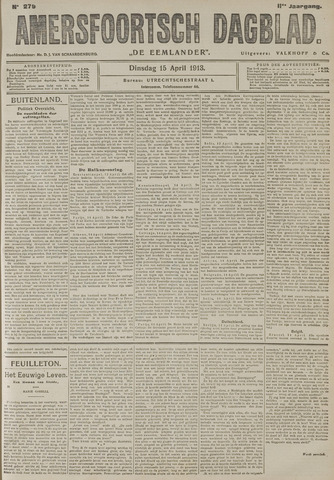 Amersfoortsch Dagblad / De Eemlander 1913-04-15