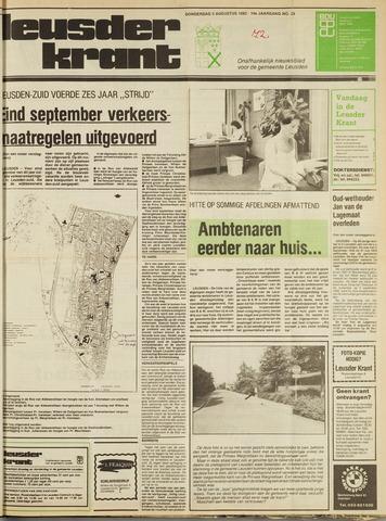 Leusder Krant 1982-08-05
