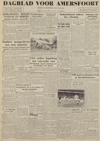 Dagblad voor Amersfoort 1946-11-08