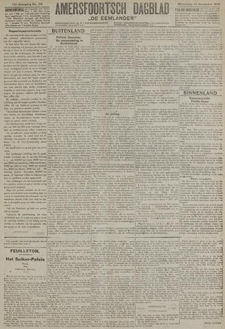 Amersfoortsch Dagblad / De Eemlander 1918-11-13