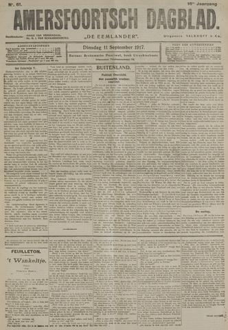 Amersfoortsch Dagblad / De Eemlander 1917-09-11