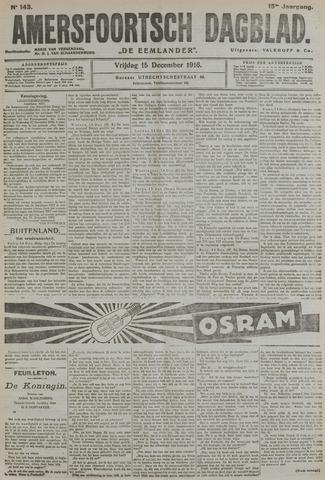 Amersfoortsch Dagblad / De Eemlander 1916-12-15