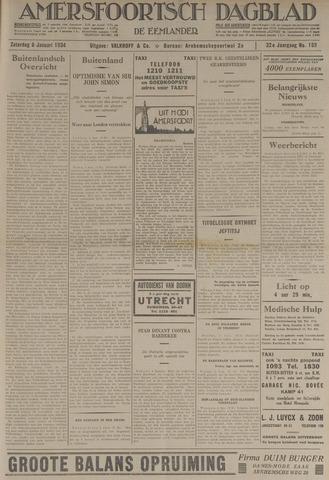 Amersfoortsch Dagblad / De Eemlander 1934-01-06