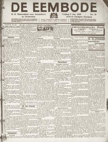 De Eembode 1925-01-09