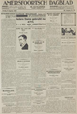 Amersfoortsch Dagblad / De Eemlander 1929-08-13