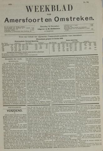 Weekblad voor Amersfoort en Omstreken 1878-12-14