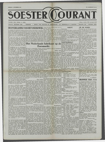 Soester Courant 1957-11-01