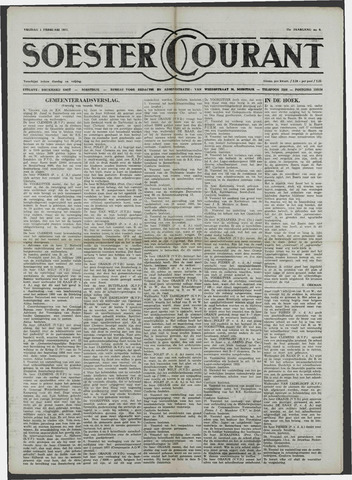 Soester Courant 1957-02-01
