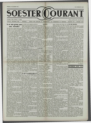 Soester Courant 1958-08-29