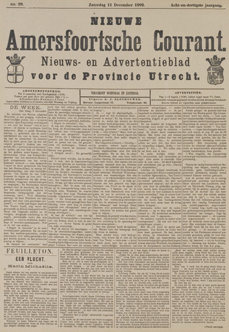 Nieuwe Amersfoortsche Courant 1909-12-11