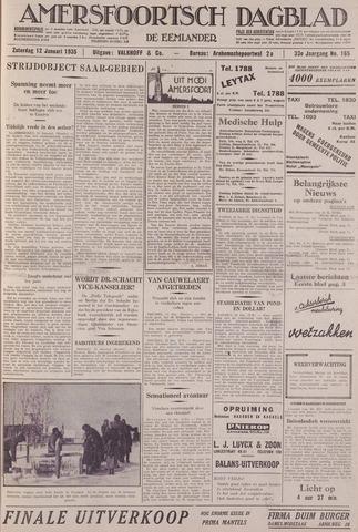 Amersfoortsch Dagblad / De Eemlander 1935-01-12