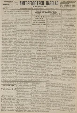 Amersfoortsch Dagblad / De Eemlander 1927-09-13