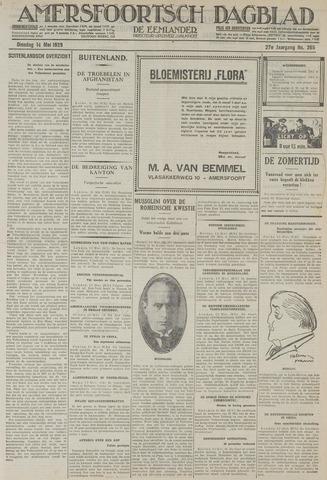 Amersfoortsch Dagblad / De Eemlander 1929-05-14