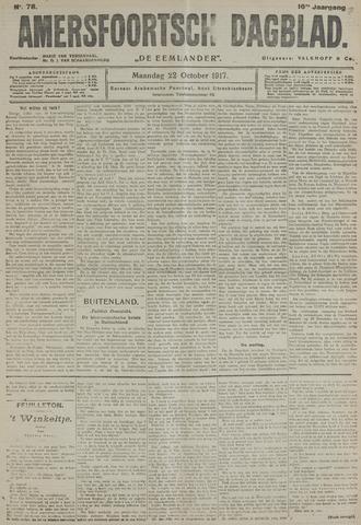 Amersfoortsch Dagblad / De Eemlander 1917-10-22