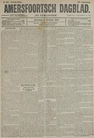 Amersfoortsch Dagblad / De Eemlander 1916-10-14